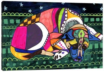 Akita V Canvas Art Print