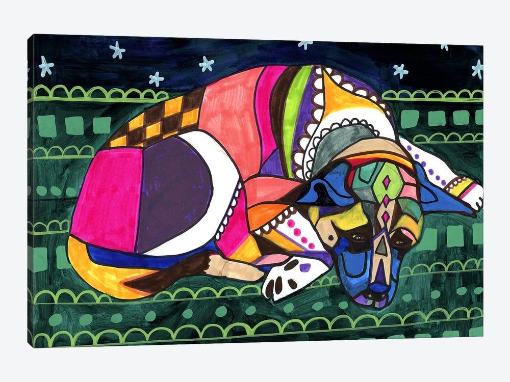 Akita V by Heather Galler 1-piece Canvas Art Print