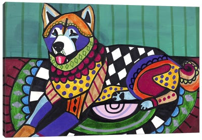 Akita  Canvas Art Print