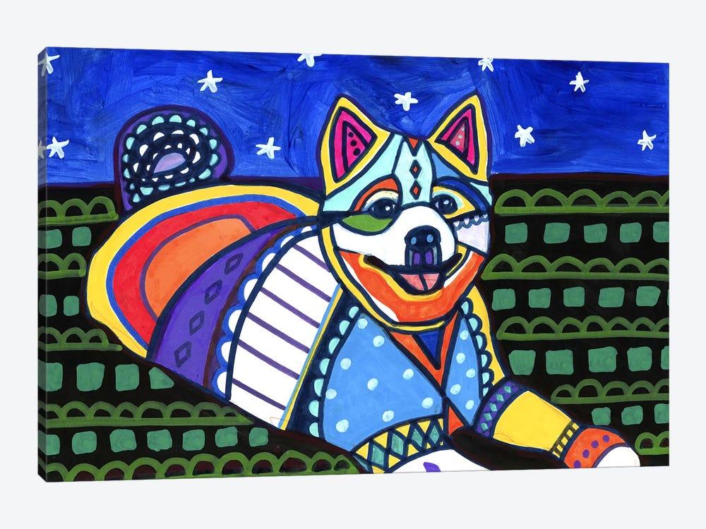 American Eskimo Maly by Heather Galler 1-piece Canvas Art