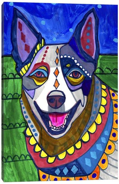 Australian Cattle Dog Canvas Art Print
