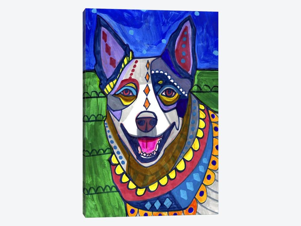 Australian Cattle Dog by Heather Galler 1-piece Canvas Art
