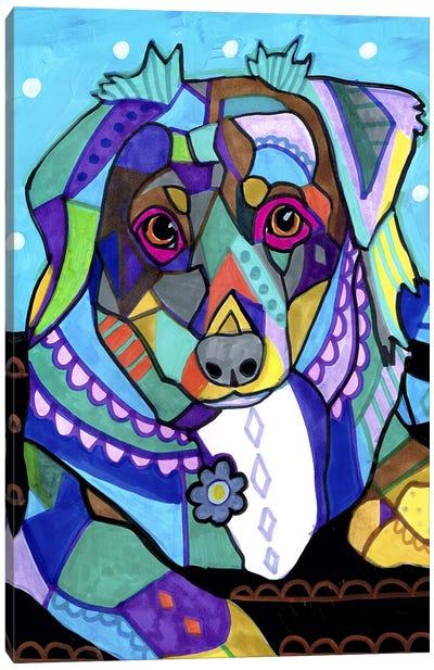 Australian Shepherd Mini Canvas Art Print