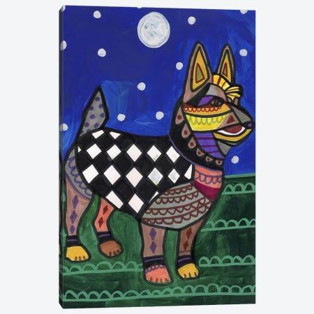 Australian Terrier Canvas Print #HGL67} by Heather Galler Canvas Artwork