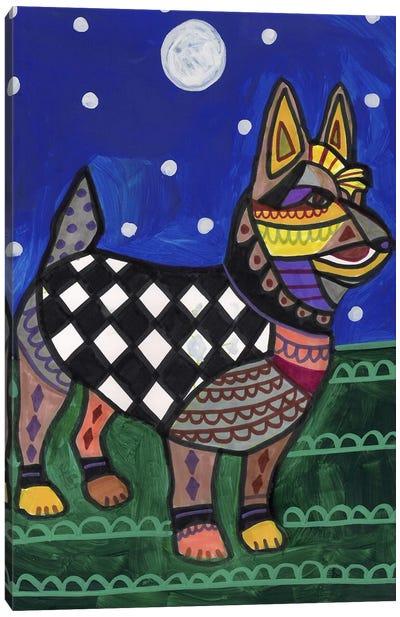 Australian Terrier Canvas Art Print