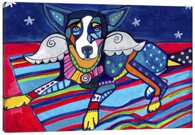 Basenji Tyler Canvas Art Print
