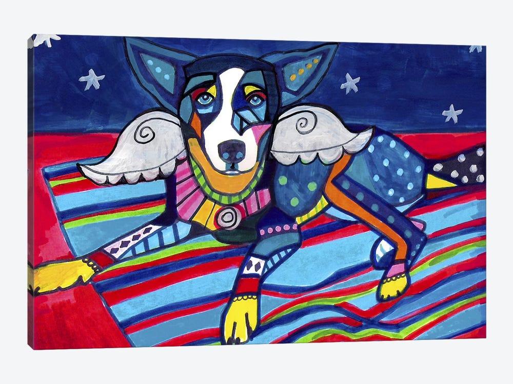 Basenji Tyler by Heather Galler 1-piece Canvas Print