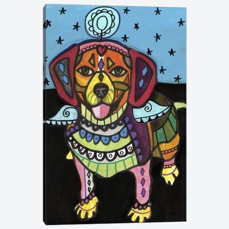 Beagle 2 Canvas Print #HGL71} by Heather Galler Canvas Wall Art