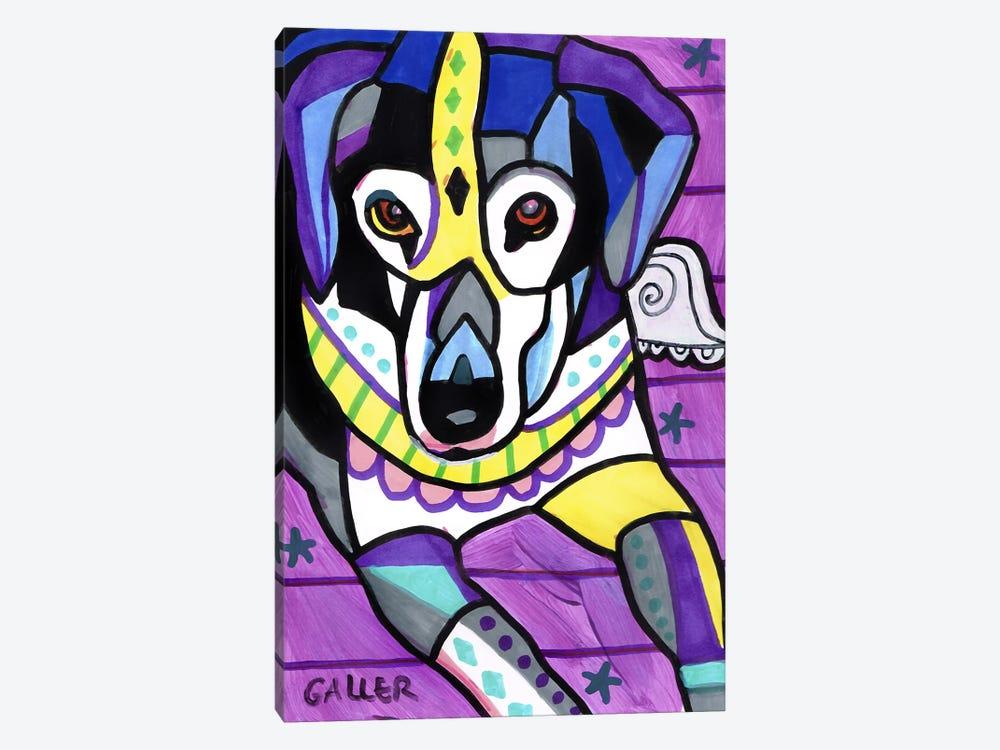 Beagle G by Heather Galler 1-piece Art Print