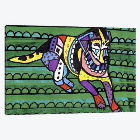 Beagle Gg Canvas Print #HGL73} by Heather Galler Canvas Wall Art
