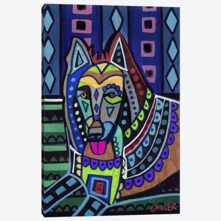 Belgian Sheepdog #1 Canvas Print #HGL77} by Heather Galler Art Print