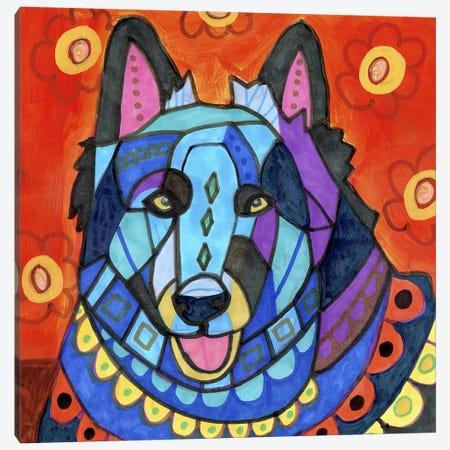 Belgian Sheepdog #2 Canvas Print #HGL78} by Heather Galler Canvas Art