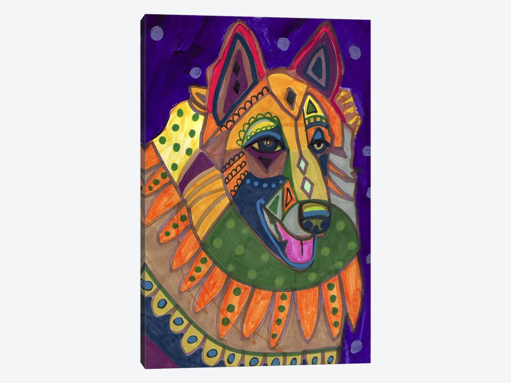 Belgian Teruvren #17 by Heather Galler 1-piece Canvas Art