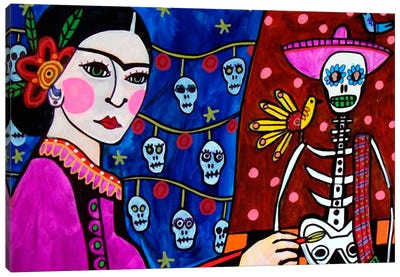 Day of the Dead III Canvas Print #HGL7