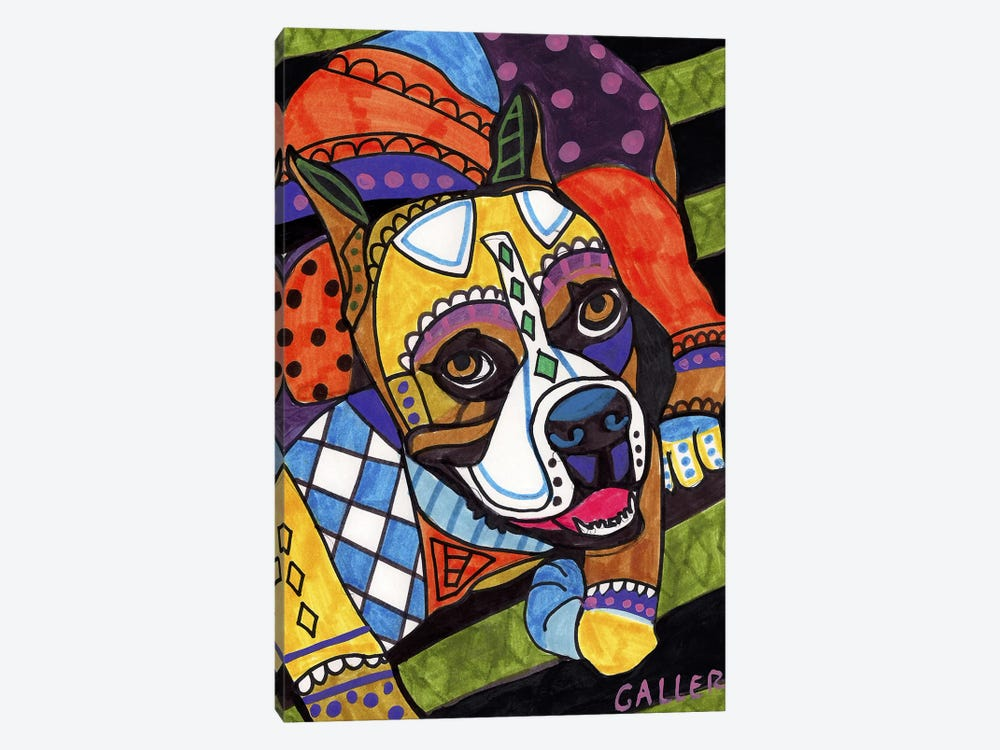 Boxer #2 by Heather Galler 1-piece Canvas Wall Art