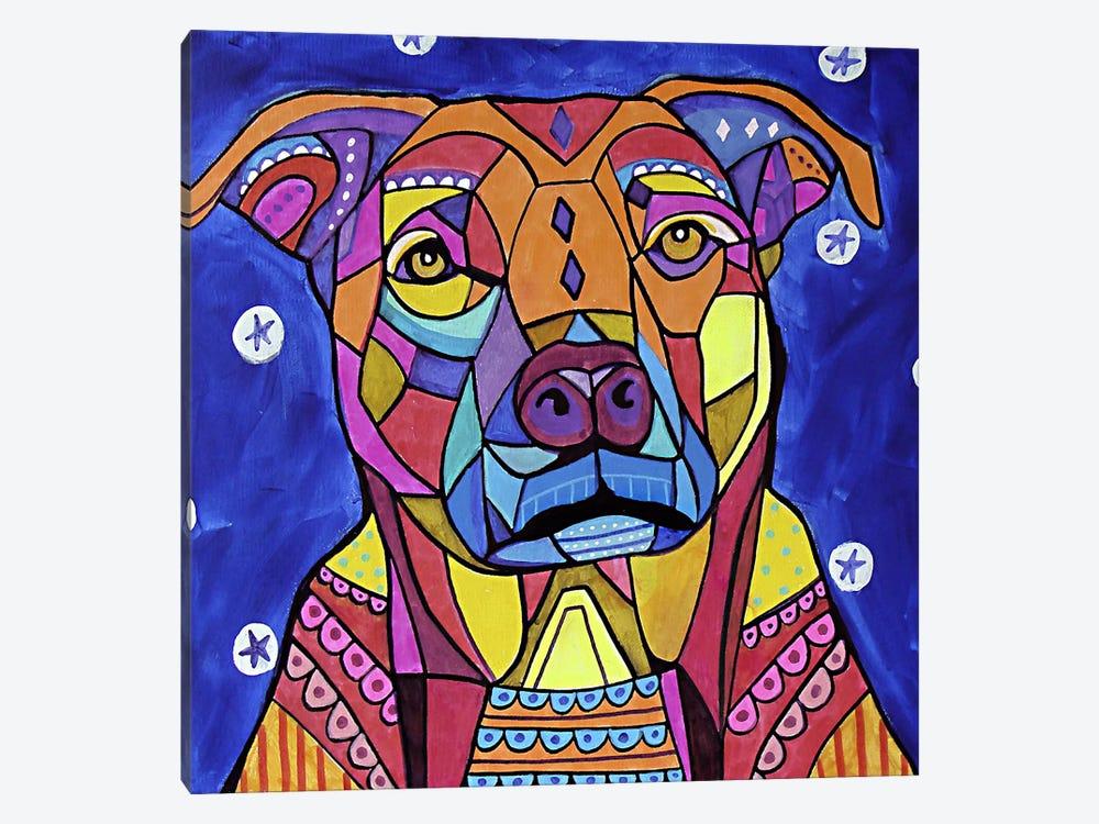 Boxer Pit by Heather Galler 1-piece Art Print