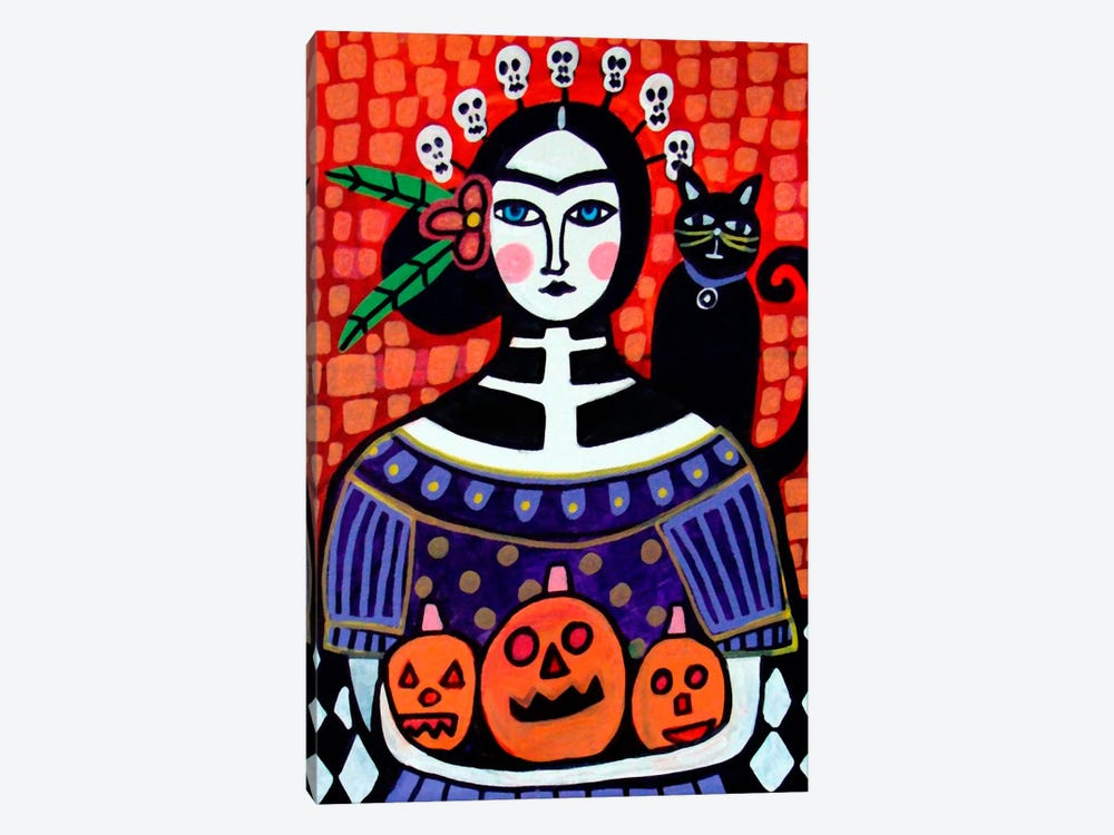 Day of the Dead IV by Heather Galler 1-piece Canvas Art Print