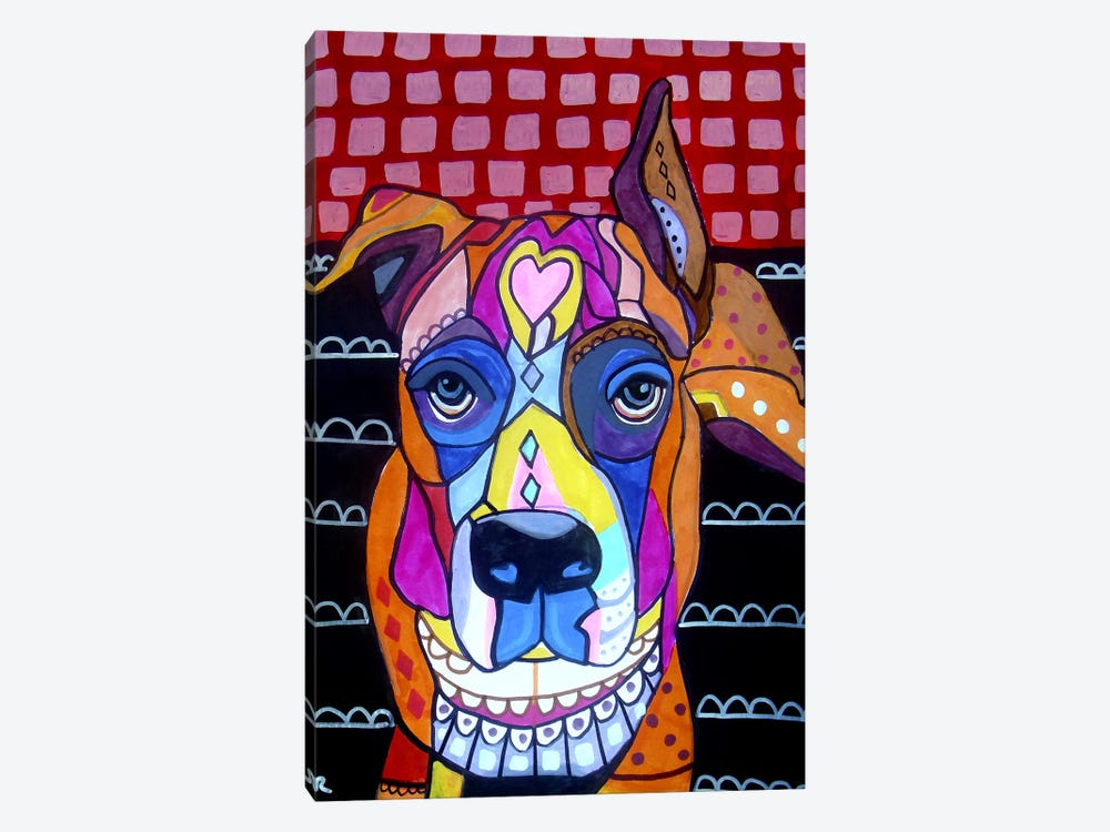 Boxer Sophie by Heather Galler 1-piece Art Print