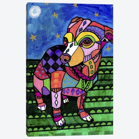Chihuahua Chicy Canvas Print #HGL95} by Heather Galler Canvas Print