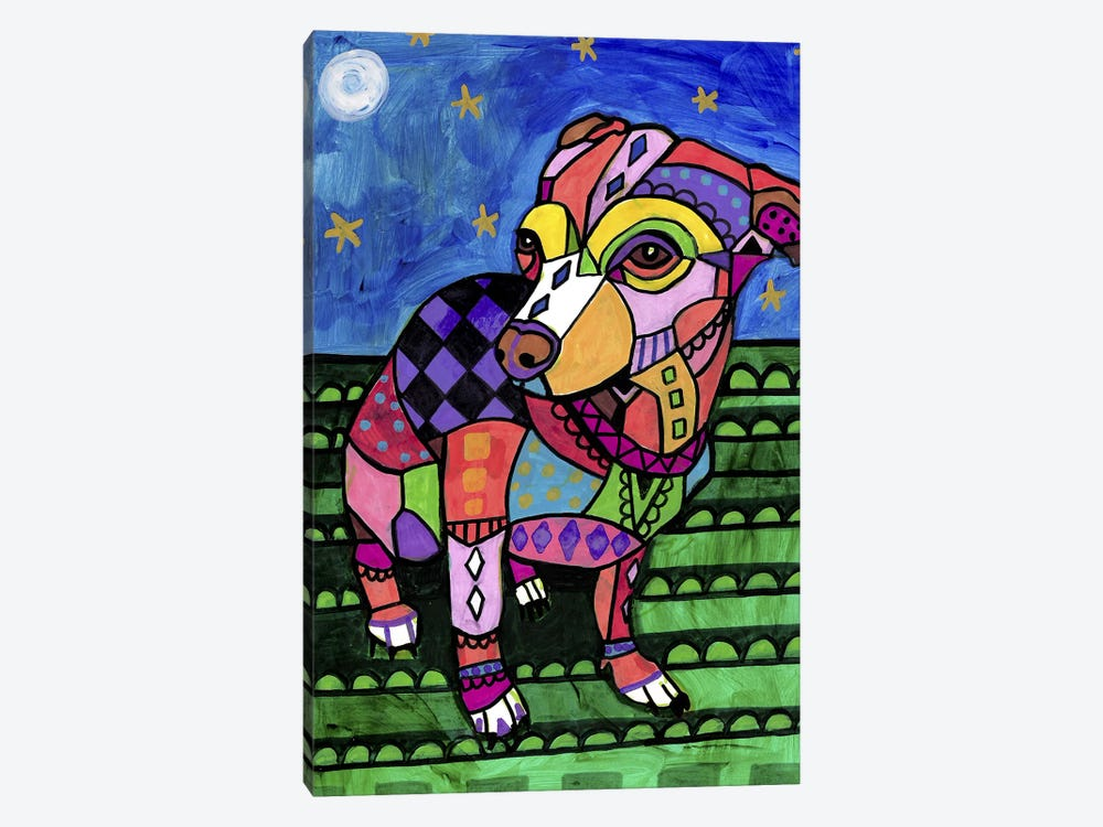 Chihuahua Chicy by Heather Galler 1-piece Canvas Art