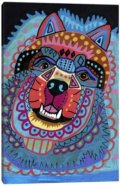Chow Canvas Art Print