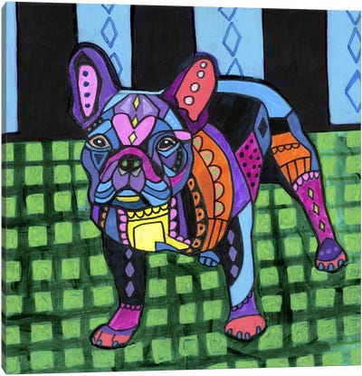 French Bulldog #2 Canvas Art Print