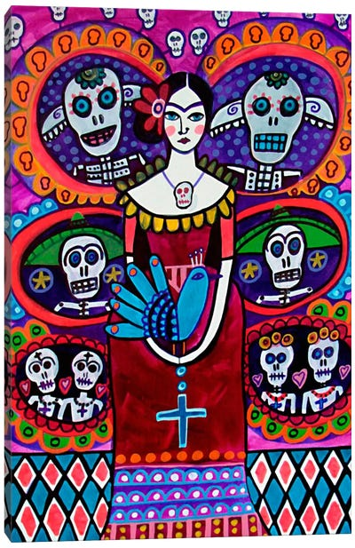 Day of the Dead V Canvas Print #HGL9