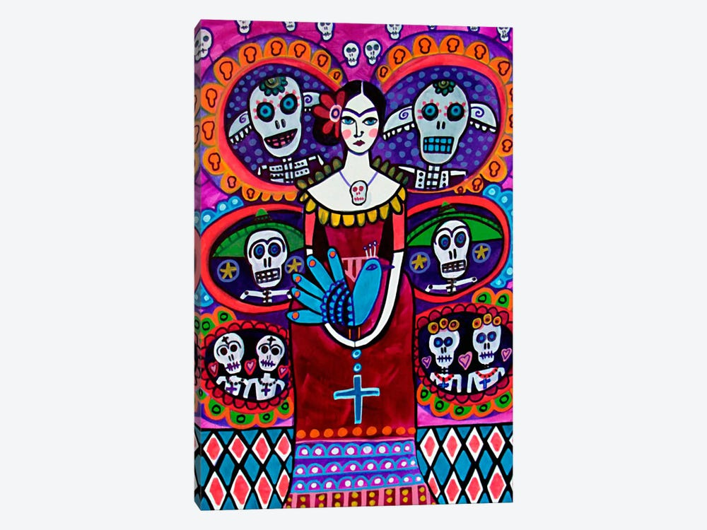 Day of the Dead V by Heather Galler 1-piece Canvas Wall Art