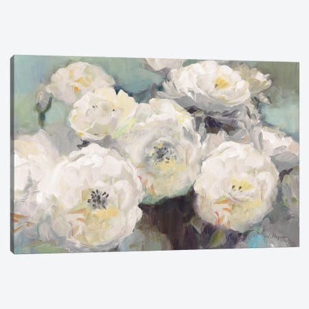 Wild Roses Sage Canvas Print #HGM7} by Marilyn Hageman Canvas Print