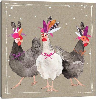 Fancy Pants Farm XI Canvas Art Print