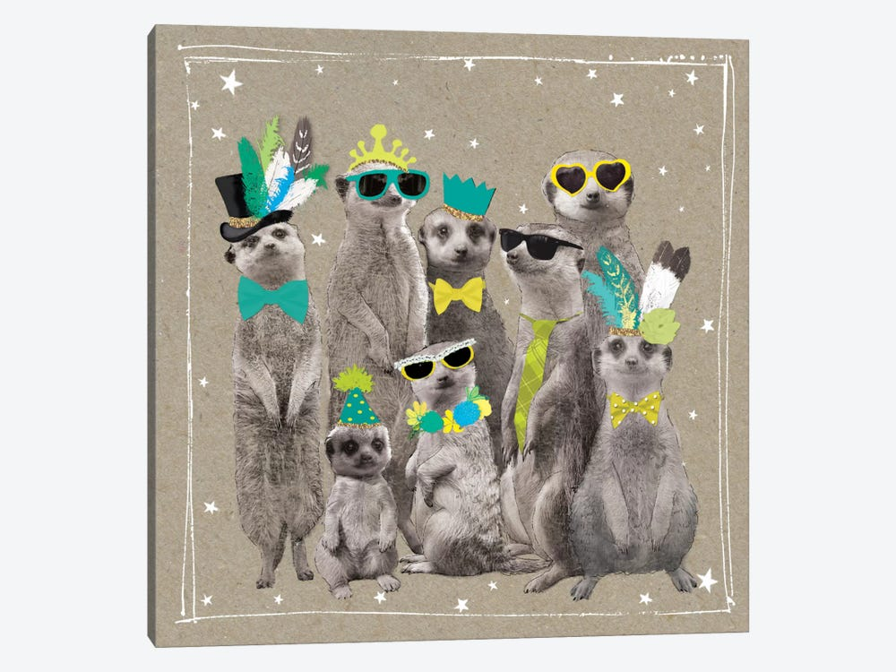 Fancy Pants Zoo I by Hammond Gower 1-piece Art Print