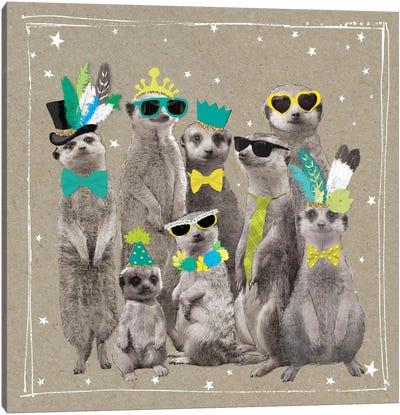 Fancy Pants Zoo I Canvas Art Print