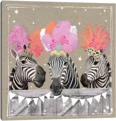 Fancy Pants Zoo II Canvas Art Print