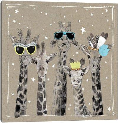 Fancy Pants Zoo III Canvas Art Print
