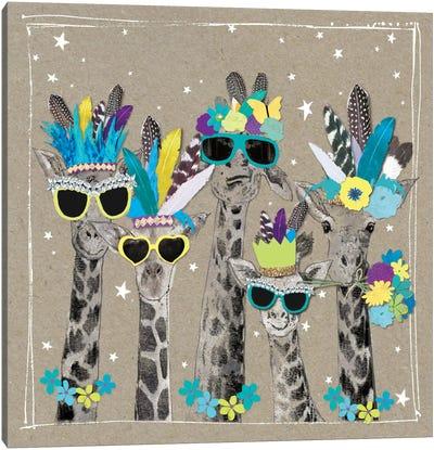 Fancy Pants Zoo IV Canvas Art Print