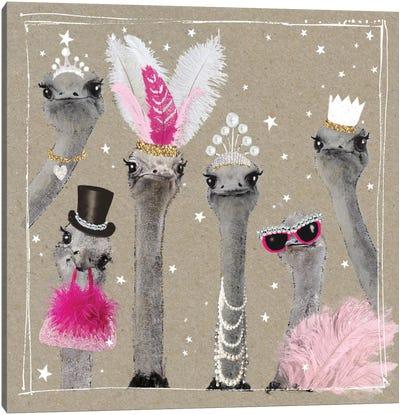 Fancy Pants Zoo V Canvas Art Print