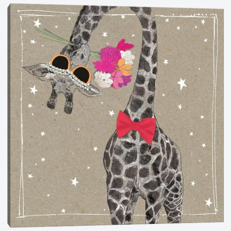 Fancy Pants Zoo VIII Canvas Print #HGO23} by Hammond Gower Canvas Art