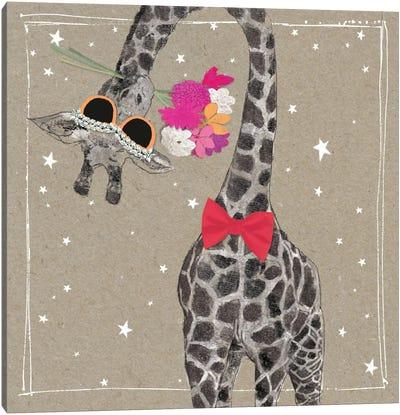 Fancy Pants Zoo VIII Canvas Art Print