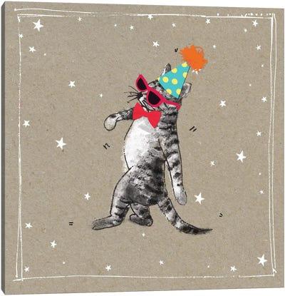 Fancy Pants Cats II Canvas Art Print