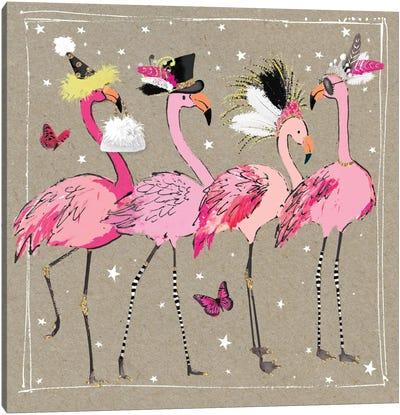 Fancy Pants Bird II Canvas Art Print