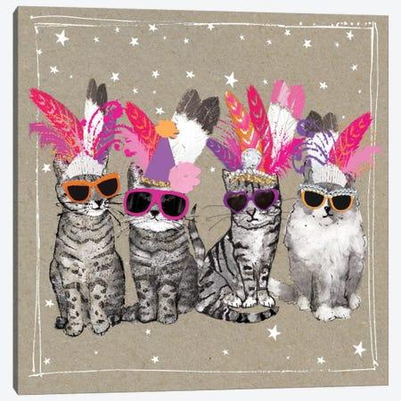 Fancy Pants Cats VI Canvas Print #HGO33} by Hammond Gower Canvas Print