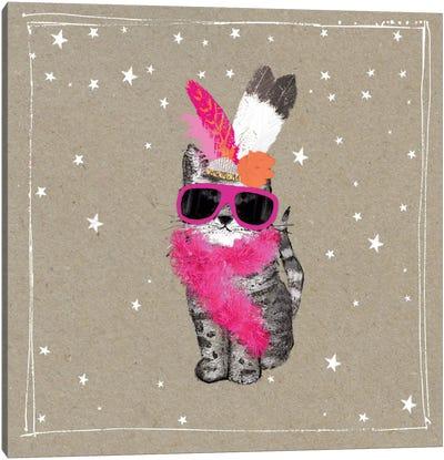 Fancy Pants Cats VIII Canvas Art Print