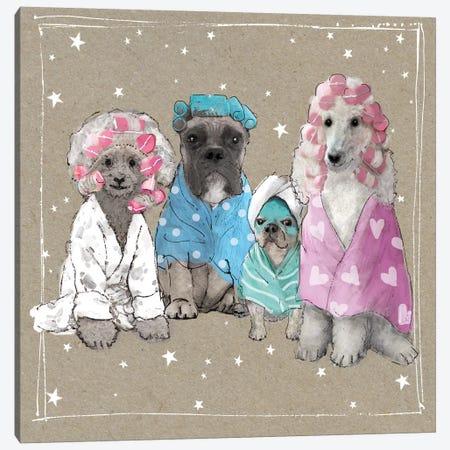 Fancypants Wacky Dogs I Canvas Print #HGO37} by Hammond Gower Canvas Art