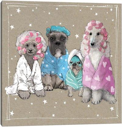 Fancypants Wacky Dogs I Canvas Art Print