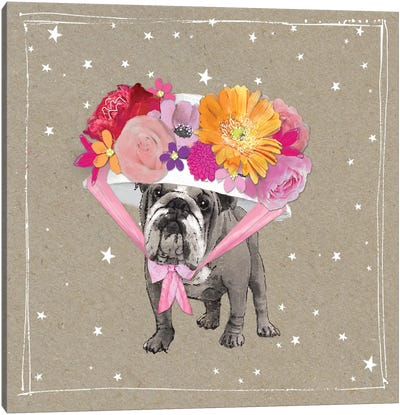 Fancypants Wacky Dogs IV Canvas Art Print