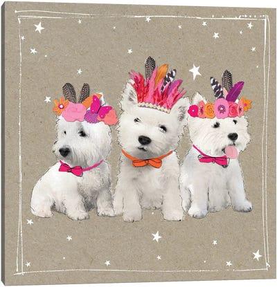 Fancypants Wacky Dogs VIII Canvas Art Print