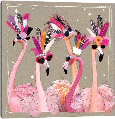 Fancy Pants Bird IV Canvas Art Print