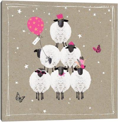 Fancy Pants Farm IV Canvas Art Print
