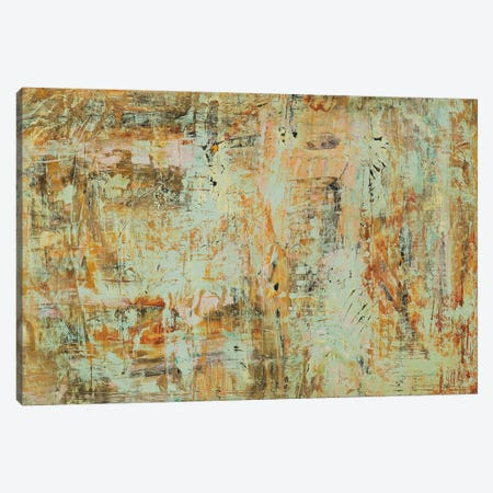 Riding The Dust I Canvas Print #HGU4} by Hilario Gutierrez Canvas Art