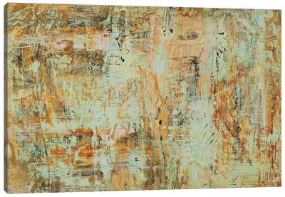 Riding The Dust I Canvas Art Print